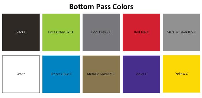 BOTTOM-PASS-COLORS for skateboard graphics