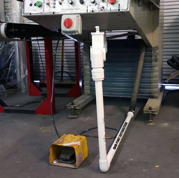 Modified-Vacuum holding down skateboard print