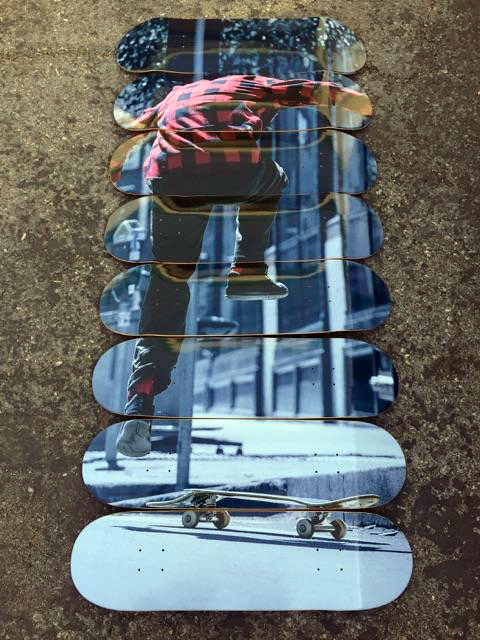 nike skateboard mural 1