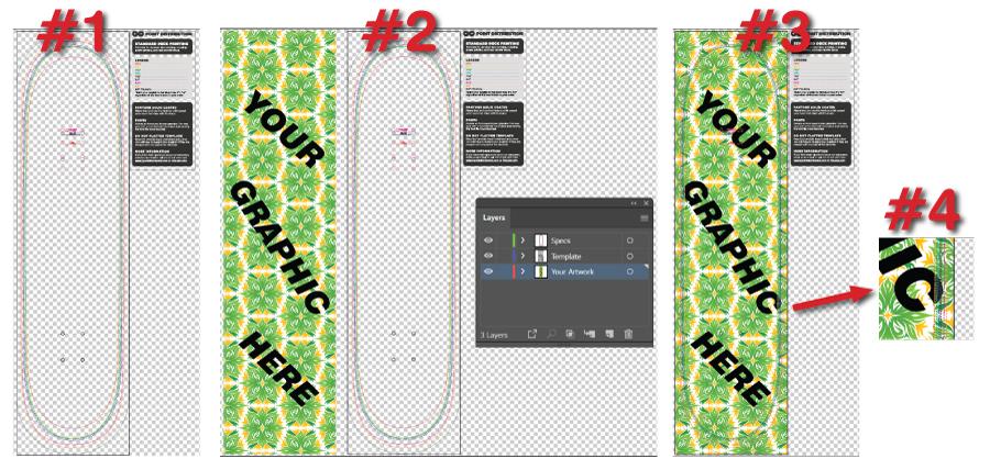Templates How To Skateboard Artwork